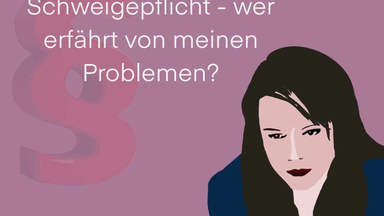 Schweigepflicht - wer erfährt von meinen Problemen? Im Austausch mit dem Jobcenter wird manchmal eine Schweigepflichtsentbindung benötigt.
