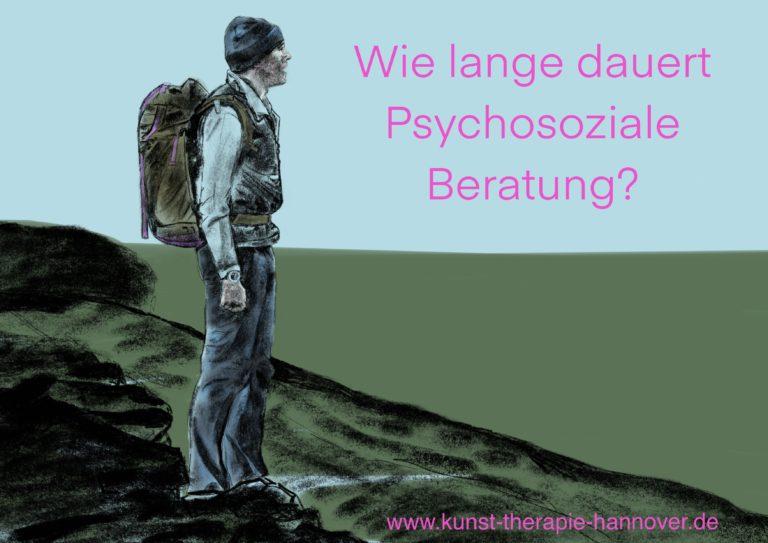 Titel Wie lange dauert psychosoziale Beratung (Gesundheitszentrum Garbsen) und link zur Website, zum pinnen für Pinterest